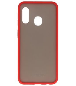 Kleurcombinatie Hard Case voor Samsung Galaxy A20e Rood