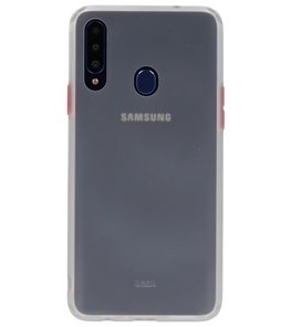 Kleurcombinatie Hard Case voor Samsung Galaxy A20s Transparant