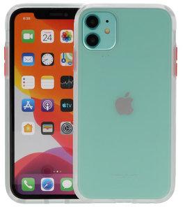 Kleurcombinatie Hard Case voor iPhone 11 Transparant