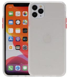 Kleurcombinatie Hard Case voor iPhone 11 Pro Max Transparant