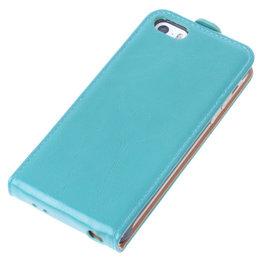 Bestcases Groen Antiek Flip Case Hoesje voor Apple iPhone 5 5S
