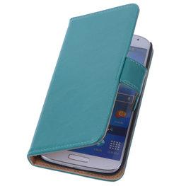 PU Leder Groen Hoesje voor Samsung Galaxy S3 Book/Wallet Case/Cover