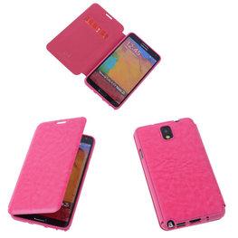 Bestcases Pink TPU Book Case Flip Cover Motief Hoesje voor Samsung Galaxy Note 3