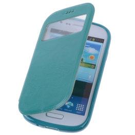 View Case Groen Hoesje voor Samsung Galaxy Trend Plus TPU Bookcover
