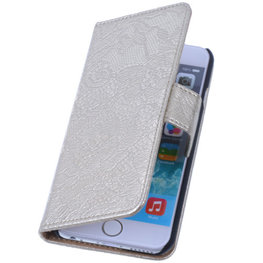Lace Goud iPhone 4 4s Book/Wallet Case/Cover