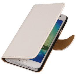 Wit Hoesje voor HTC Desire Eye s Book/Wallet Case/Cover