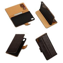 BC Slang Zwart Hoesje voor HTC Desire Eye Stand Bookcase Cover