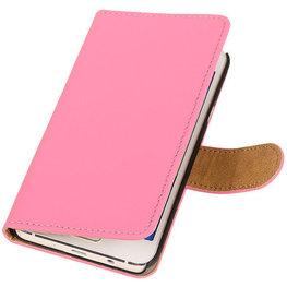 Roze Hoesje voor Motorola Nexus 6 Book Wallet Case