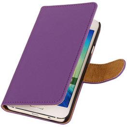 Paars Hoesje voor Motorola Nexus 6 Book Wallet Case