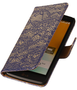Lace Blauw Honor 3c Book/Wallet Case/Cover
