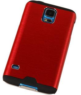 Lichte Aluminium Hardcase Hoesje voor Samsung Galaxy S3 Rood