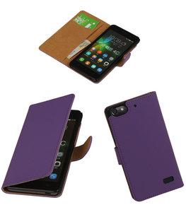 Hoesje voor Huawei Honor 4C Booktype Paars