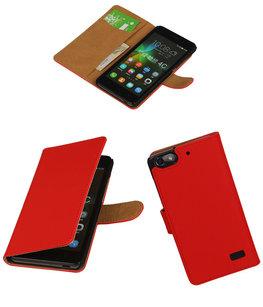 Hoesje voor Huawei Honor 4C Booktype Rood