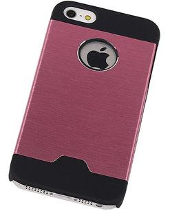 Lichte Aluminium Hardcase iPhone 5/5S Roze