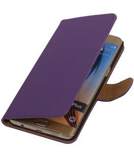 Effen Egaal Paars - Hoesje voor Samsung Galaxy S6 edge Plus