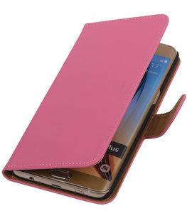 Effen Egaal Roze - Hoesje voor Samsung Galaxy S6 edge Plus