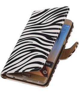 Zebra print - Hoesje voor Samsung Galaxy S6 edge Plus