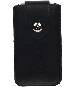 Sony Xperia Z5 Compact - Luxe Leder look insteekhoes/pouch - Zwart S