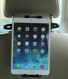 Universele tablethouder voor auto hoofdsteunen