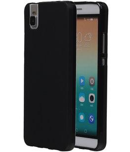 Hoesje voor Huawei Honor 7i TPU Zwart