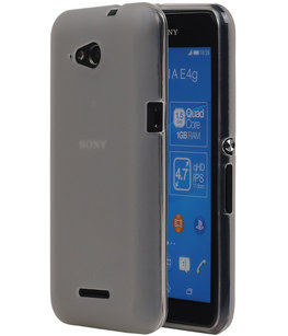 Hoesje voor Sony Xperia E4g TPU Transparant Wit