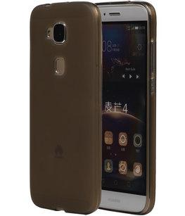 Hoesje voor Huawei G8 TPU Transparant Grijs