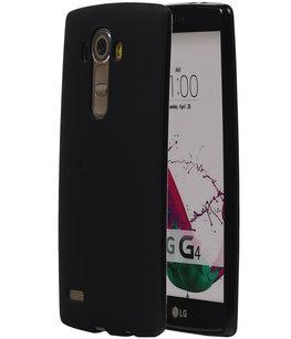 Hoesje voor LG G4 TPU Zwart