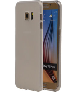 Hoesje voor Samsung Galaxy S6 Edge Plus TPU Transparant Wit