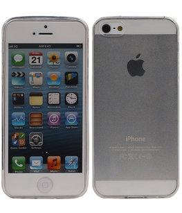 Hoesje voor Apple iPhone 5/5s Transparant
