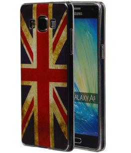 Britse Vlag TPU Cover Case voor Hoesje voor Samsung Galaxy A5 2015