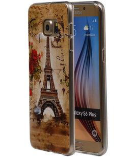 Eiffeltoren TPU Cover Case voor Hoesje voor Samsung Galaxy S6 Edge Plus