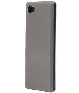 Hoesje voor Samsung Galaxy J1 Nxt / J1 Mini TPU Back Cover Transparant Wit