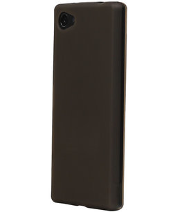 Hoesje voor Samsung Galaxy J1 Nxt / J1 Mini TPU Back Cover Transparant Grijs