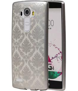 Zilver Brocant TPU back case cover voor Hoesje voor LG G4