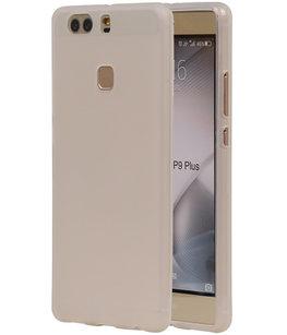 Hoesje voor Huawei P9 Plus TPU Transparant Wit
