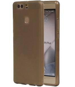Hoesje voor Huawei P9 Plus TPU Transparant Grijs
