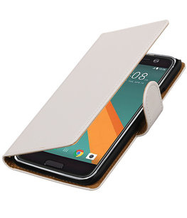 Hoesje voor HTC 10 TPU Back Cover Transparant Wit
