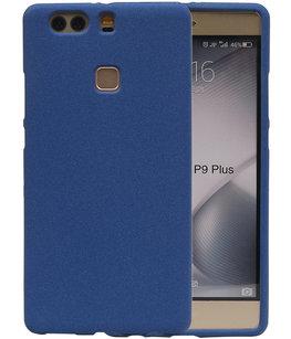 Blauw Zand TPU back case cover voor Hoesje voor Huawei P9 Plus
