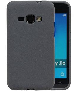 Grijs Zand TPU back case cover voor Hoesje voor Samsung Galaxy J1 2016