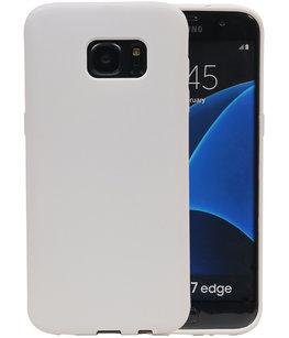 WitZand TPU back case cover voorHoesje voor Samsung Galaxy S7Edge
