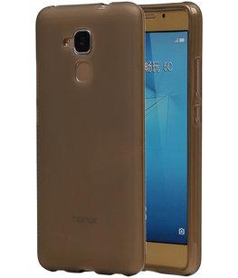 Hoesje voor Huawei Honor 5c TPU Transparant Grijs