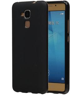 Hoesje voor Huawei Honor 5c TPU Zwart