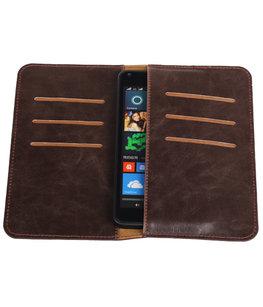 Mocca Pull-up Medium Pu portemonnee wallet voor Microsoft