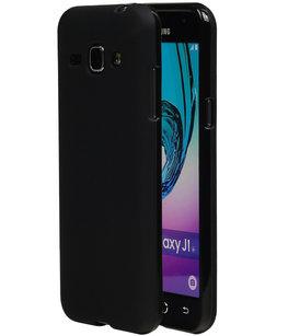 Hoesje voor Samsung Galaxy J1 2016 TPU Cover Zwart