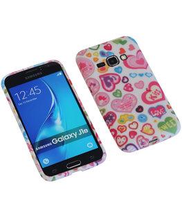 Kiss TPU back case cover voor Hoesje voor Samsung Galaxy J1 2016