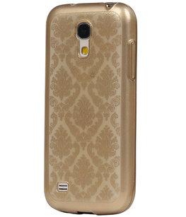 Goud Brocant TPU back case cover voor Hoesje voor Samsung Galaxy S5 Mini