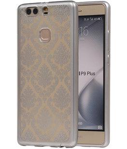 Zilver Brocant TPU back case cover voor Hoesje voor Huawei P9 Plus