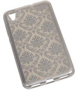 Zilver Brocant TPU back case cover voor Hoesje voor Huawei Honor Y6 II