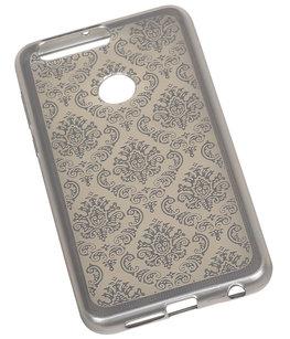 Zwart Brocant TPU back case cover voor Hoesje voor Huawei Honor 8