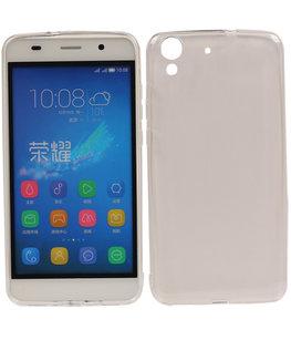 Hoesje voor Huawei Holly 3 / Y6 II Cover Transparant
